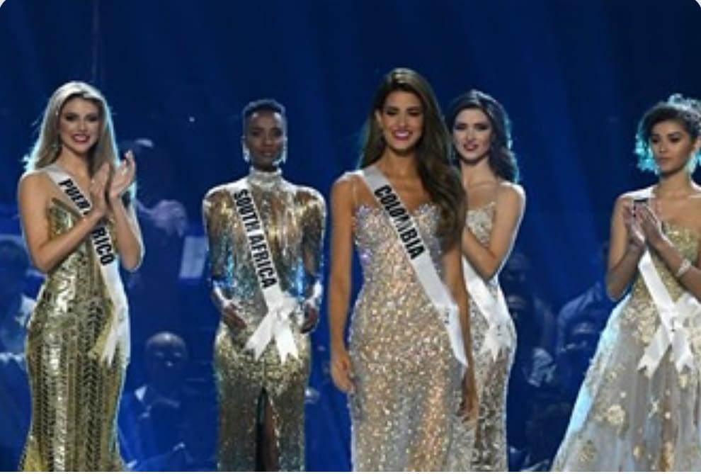 """""""Ganar con el pelo y la piel que tengo es algo verdaderamente mágico"""": Miss Universo 2019 2"""