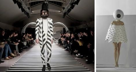 La generaciones de diseños de moda conceptual 9