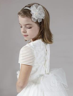 Vestido para primera comunion para niña 7