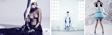 La generaciones de diseños de moda conceptual 5