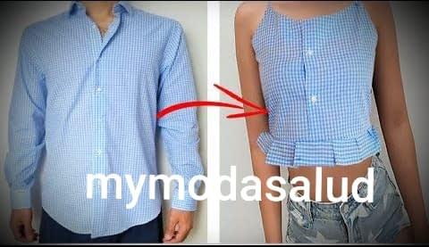 Reciclar  tu ropa usada  para hacer nuevos modelo. 3
