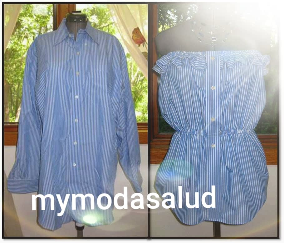 Reciclar  tu ropa usada  para hacer nuevos modelo. 5