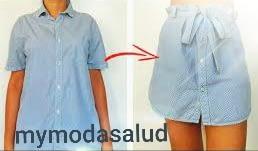 Reciclar  tu ropa usada  para hacer nuevos modelo. 4