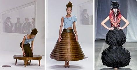 La generaciones de diseños de moda conceptual 8