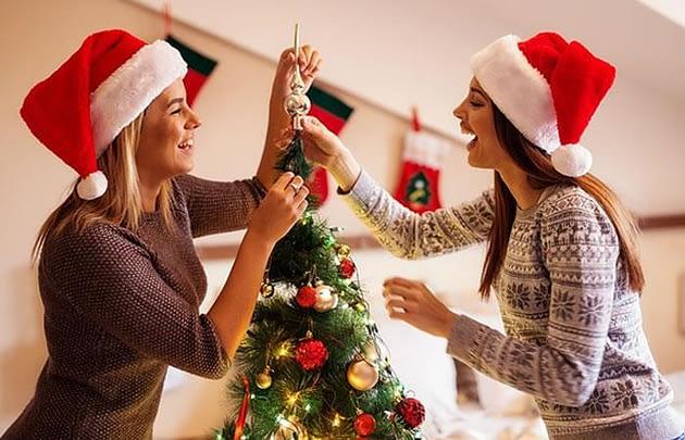 Como decorar mi arbol de navidad sin gastar mucho dinero 10